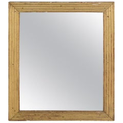 19th Century Reeded French Mirror