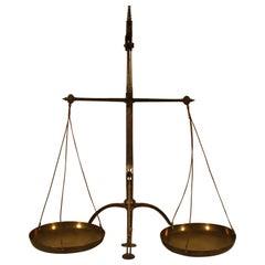 19century English Balancing Scale