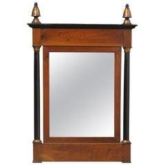 19th-20th Century Continental Wood Mirror