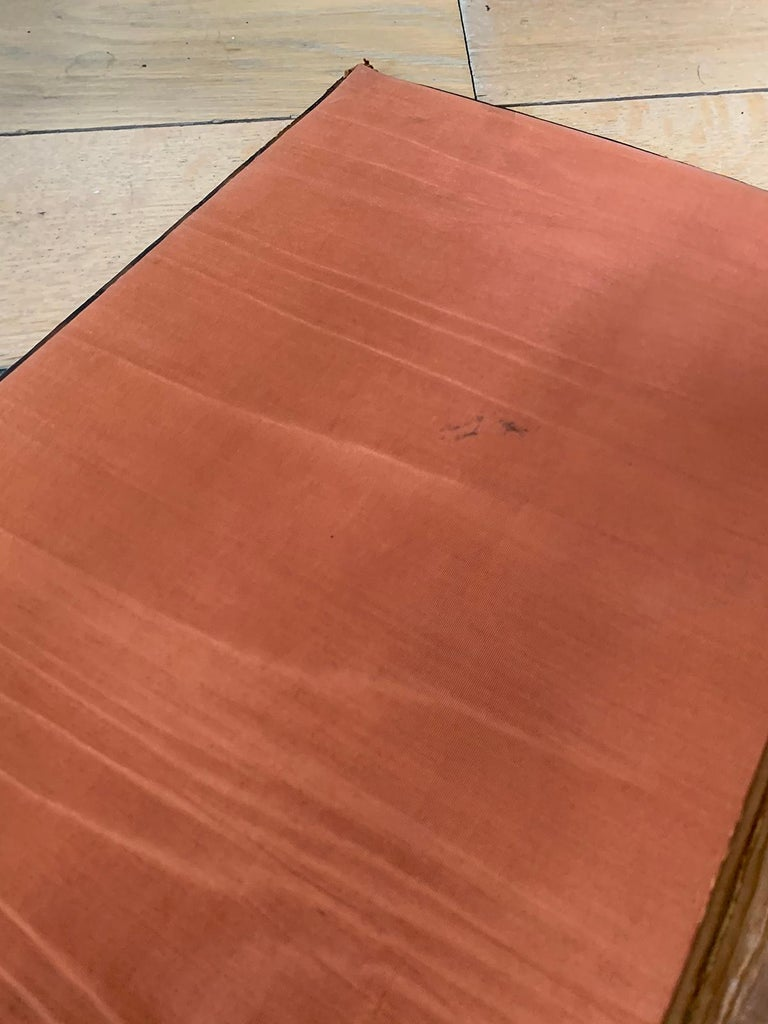 19th-20th Century French Leather Folio For Sale 7