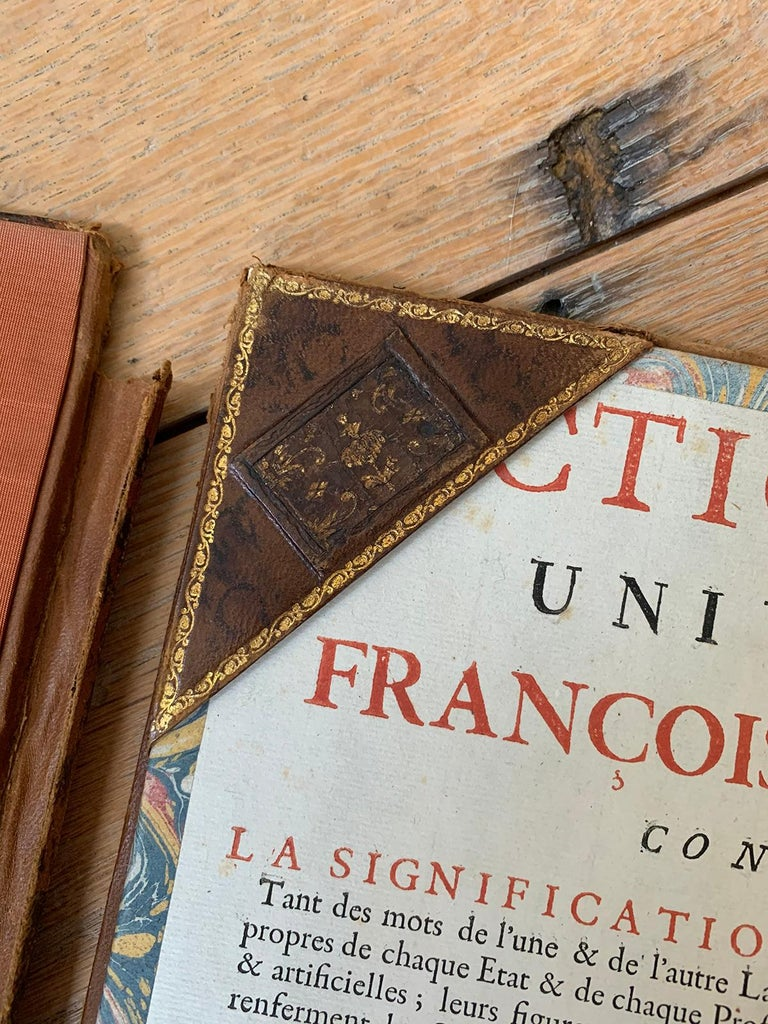 19th-20th Century French Leather Folio For Sale 9