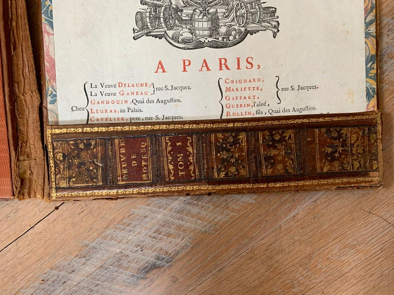 19th-20th Century French Leather Folio For Sale 10