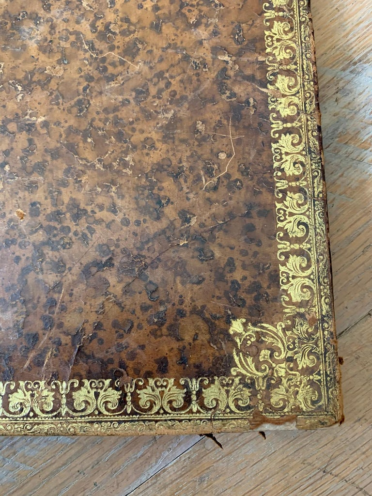 19th-20th Century French Leather Folio For Sale 2