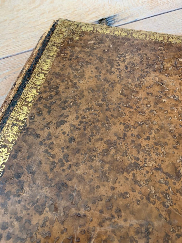 19th-20th Century French Leather Folio For Sale 3