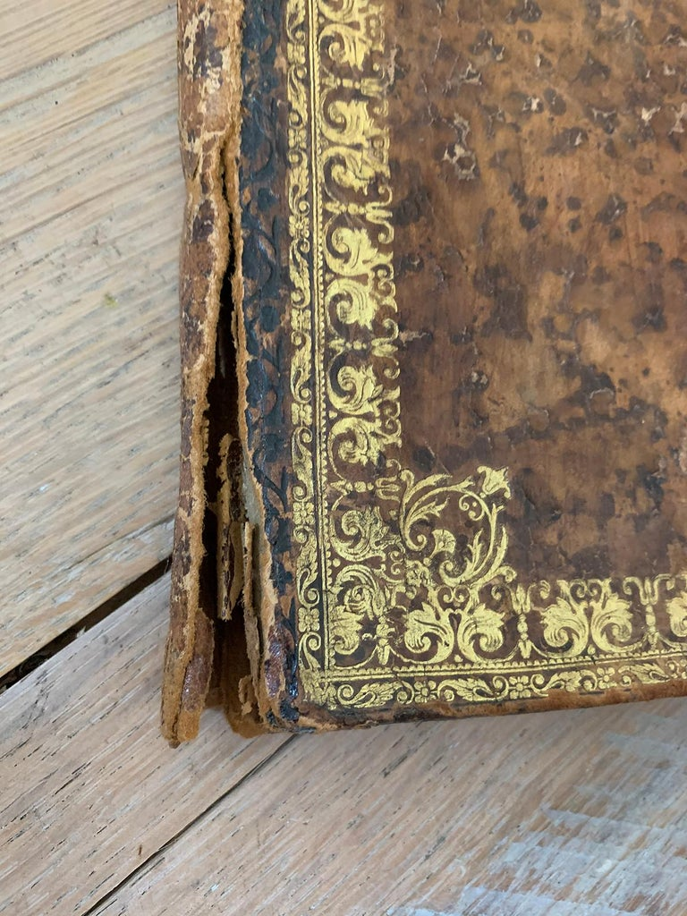 19th-20th Century French Leather Folio For Sale 4