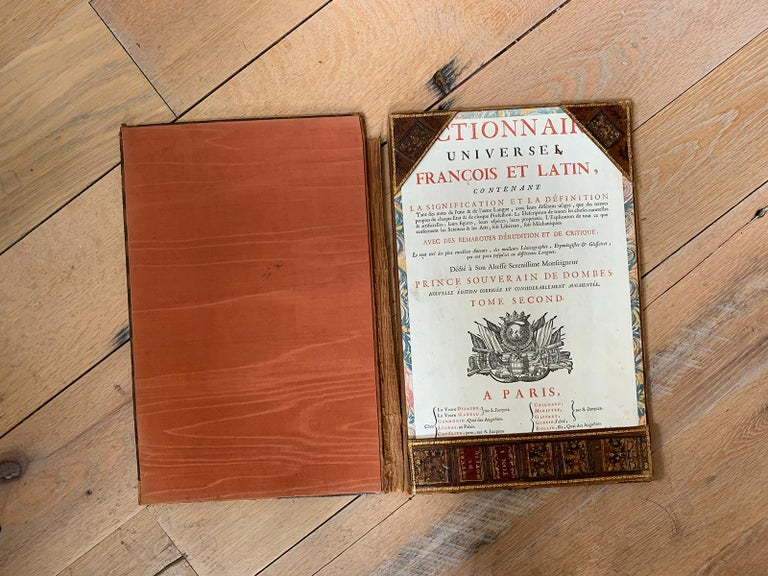 19th-20th Century French Leather Folio For Sale 5