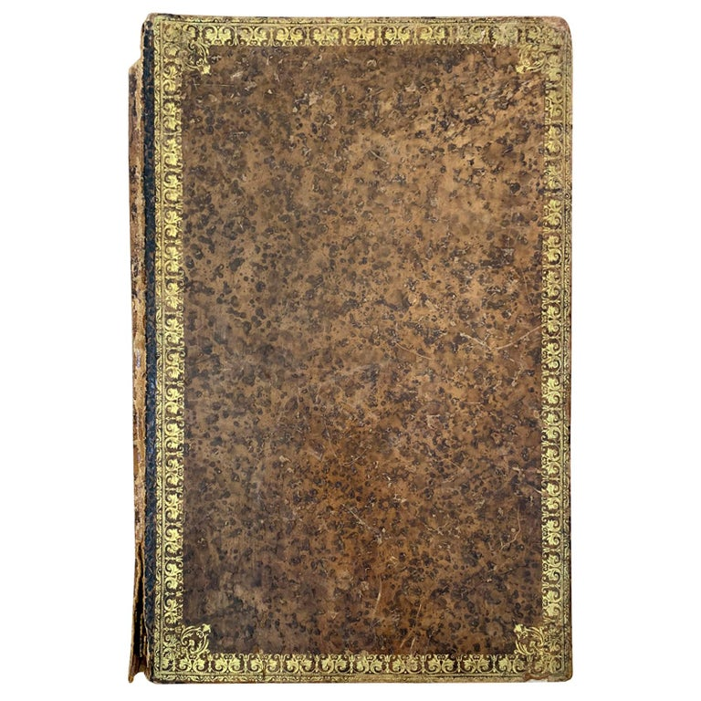19th-20th Century French Leather Folio For Sale