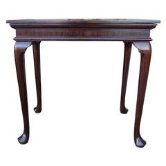 19th-20th Century Georgian Style Mahogany Serving Table
