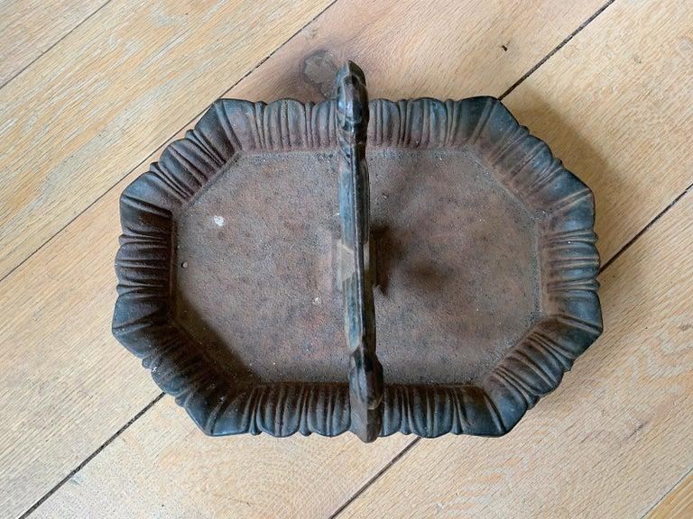 19th-20th Century Iron Boot Scrape In Good Condition For Sale In Atlanta, GA