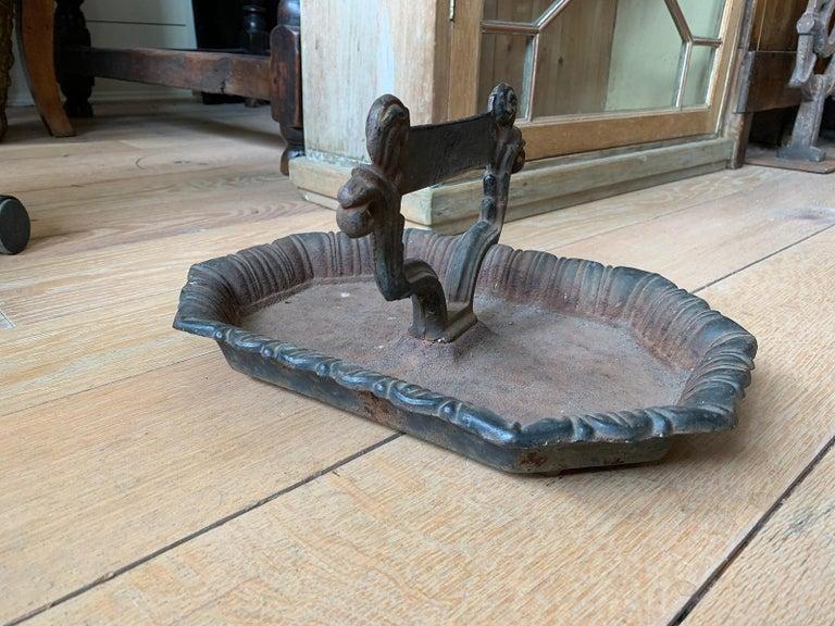 19th Century 19th-20th Century Iron Boot Scrape For Sale