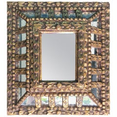 19th-20th Century Italian Giltwood Mirror