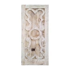19th-20th Century Large Carved Oak Architectural Panel