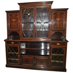 19th / 20th Century Mahogany Bookcase