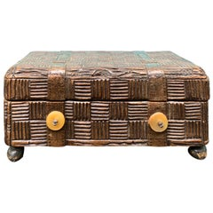 19th-20th Century Suitcase Musical Box