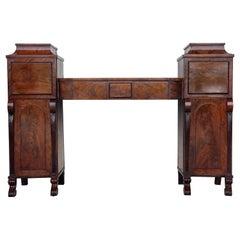 19th Century Biedermaier Vanity Desk, Probably Austria, circa 1815-1820 Signed
