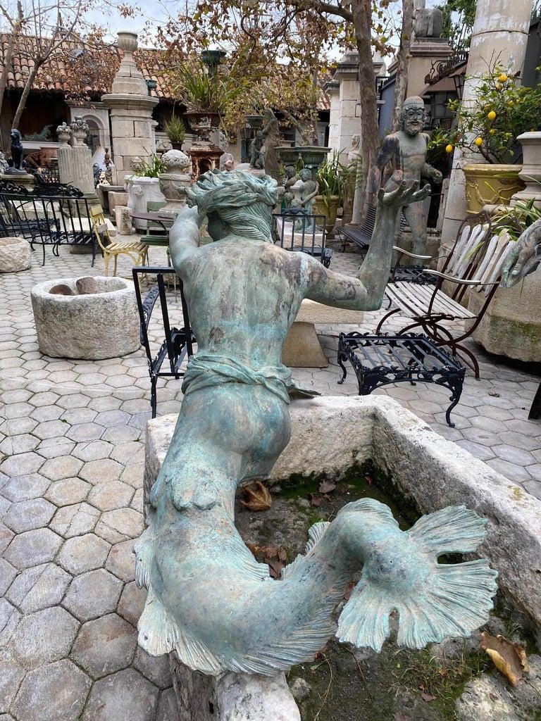 Bronze Statue Center Piece Fountain Decorative Garden Ornament Sculpture For Sale 4
