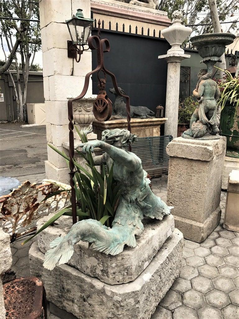 Bronze Statue Center Piece Fountain Decorative Garden Ornament Sculpture For Sale 6