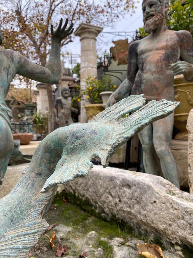 Bronze Statue Center Piece Fountain Decorative Garden Ornament Sculpture For Sale 10