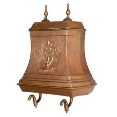 19th Century French Copper Lavabo