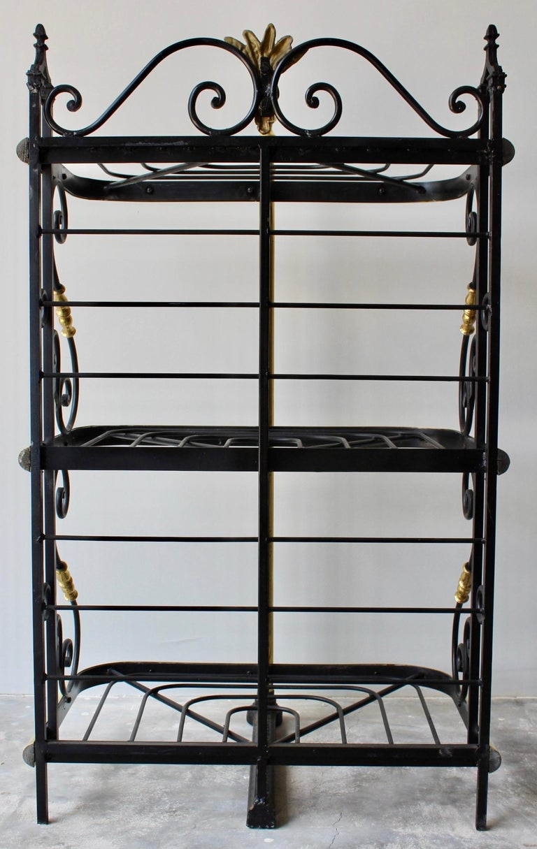 19th Century French Counter Top Bakers Rack For Sale 6