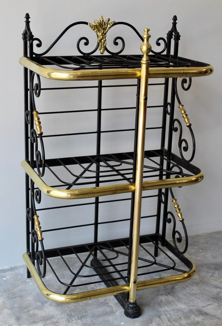 Belle Époque 19th Century French Counter Top Bakers Rack For Sale