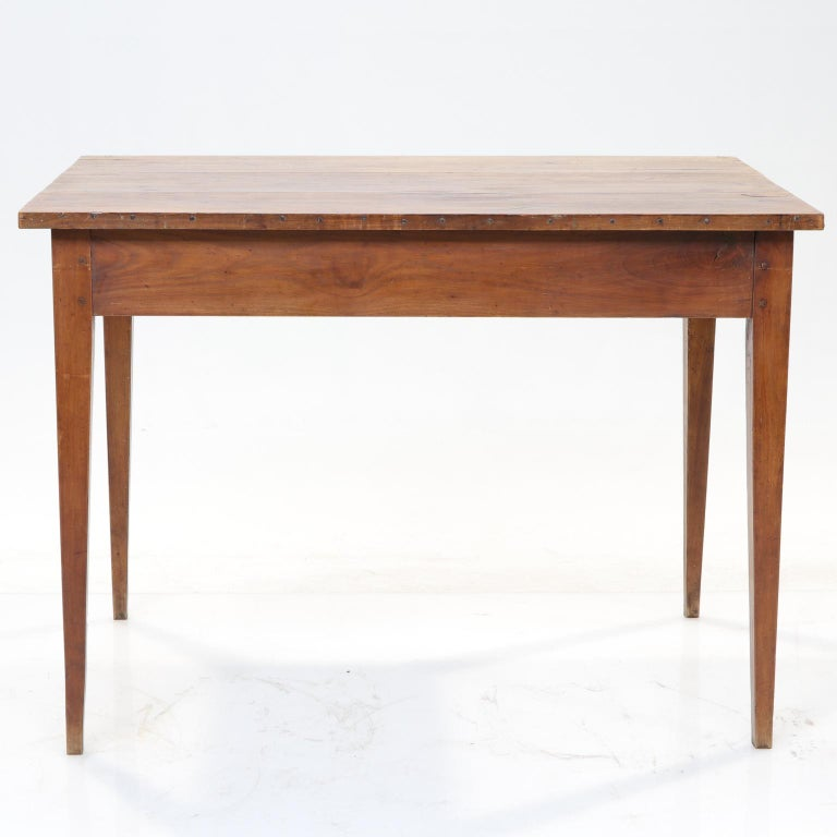 Woodwork 19th Century French Country Side Table For Sale