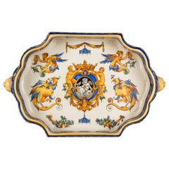 19th Century French Gien Faience Jardinière