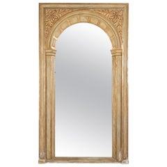 19th c, French Parcel-Gilt Floor Mirror
