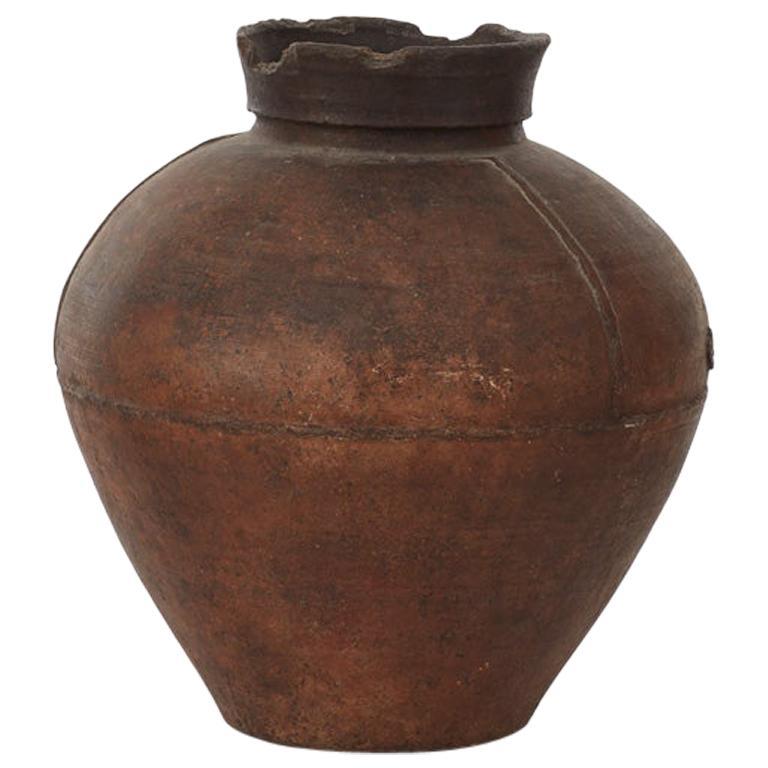 19th Century Gundivos Galician Black Pot, Spain For Sale