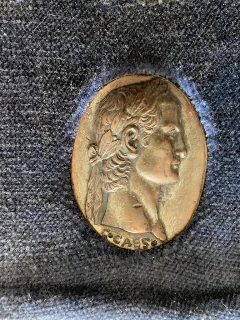 Italian Grand Tour Medals of Roman Emperors and the Roman Colosseum For Sale 8
