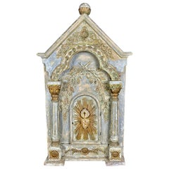 19th Century Italian Painted Tabernacle