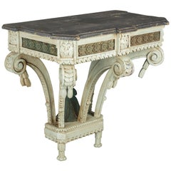 19th Century Louis XVI Style Painted Console