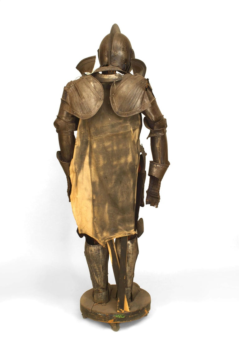 19th Century 19th c. Medieval Style Suit Of Armor For Sale