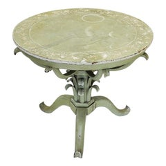 Mist Green and Vine Italian Occasional Table Noel Coward Blithe Spirit