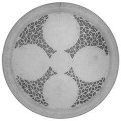 19th Century Moghul Marble Plate