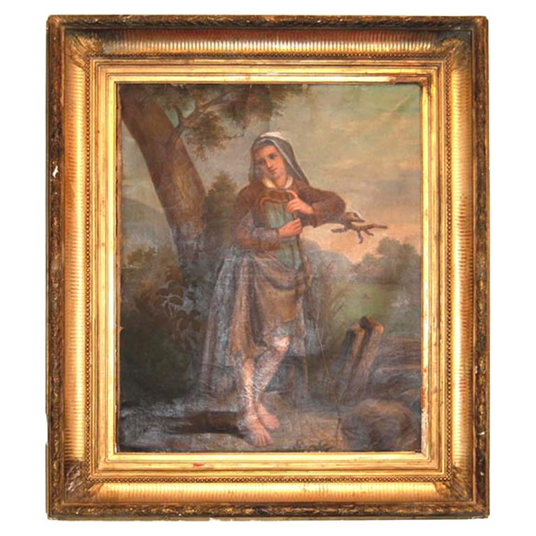 19th c. Oil Painting