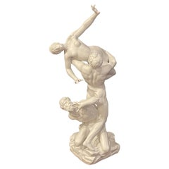 19th C Parian Model of Giambologna's 'Abduction of a Sabine Woman'
