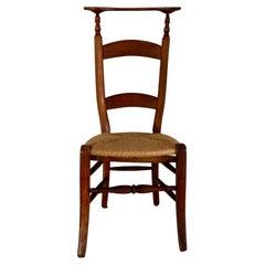 19th C. Prie Dieu Chair