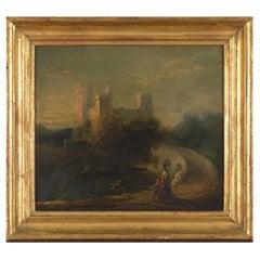 19th C, Romanticism, English School, Romantic Landscape