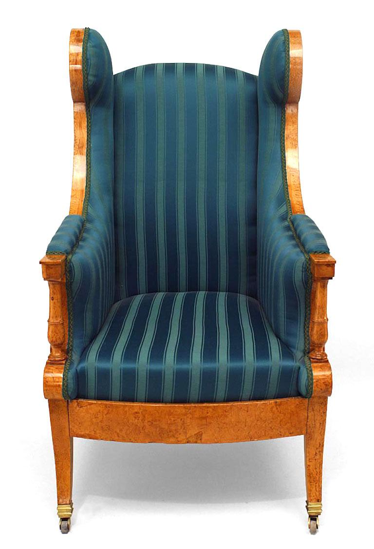 19th C Russian Winged Armchair For Sale At 1stdibs