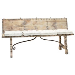19th Century Spanish Bench