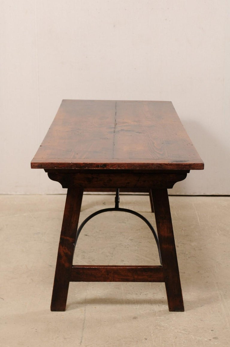 Spanish Table with Legs Uniquely Designed to be Folded for Easy Storage For Sale 3