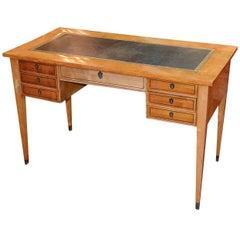 19th Century Swedish Birch Writing Desk