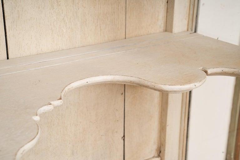 Wood 19th Century Swedish Display Cabinet For Sale