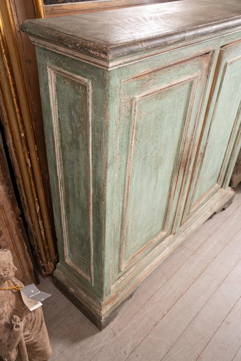 19th Century Tuscan Painted Buffet In Fair Condition For Sale In New Orleans, LA