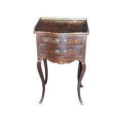 19th c. Vernis Marten Table