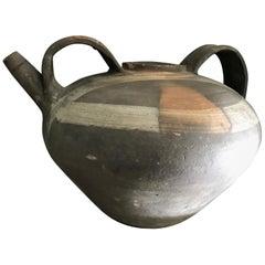 Water Holder Jug Pottery Handmade Pitcher Vase Antiques LA CA centerpiece decor