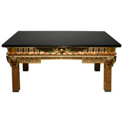 Gilt Carved Center Table Egypt Style Ismail Pasha Gezireh Palace Kairo