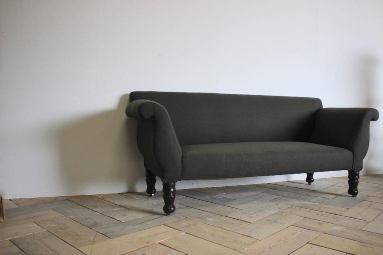 19th Century English Country House Sofa For Sale 1