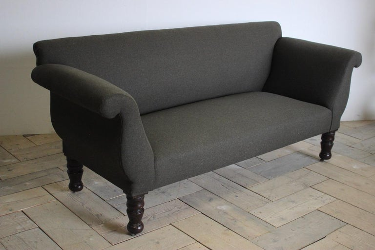19th Century English Country House Sofa For Sale 4